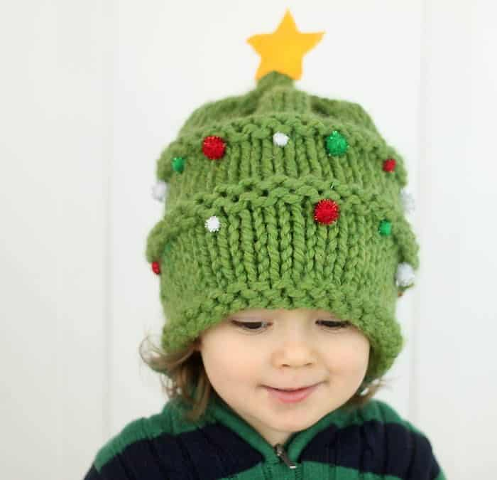 Christmas tree hat