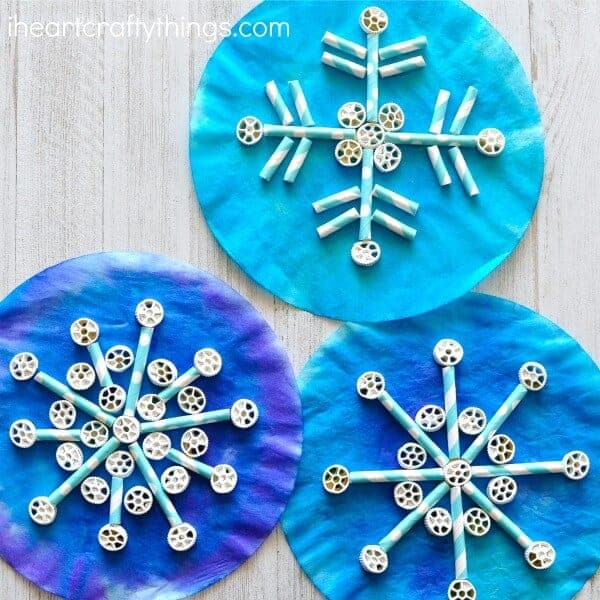 DIY Snowflake Themed Crafts