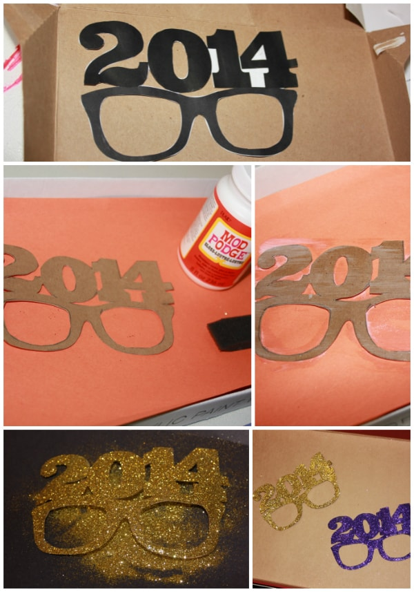 Diy nye glasses props