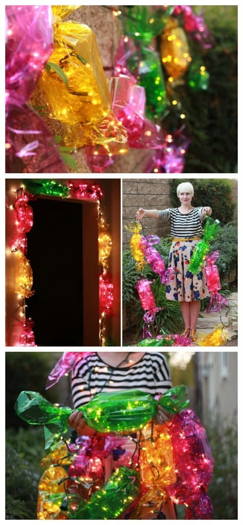 Diy light up candy lights