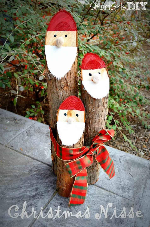 Danish santa logs