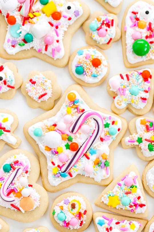 Everything sweet sugar cookies