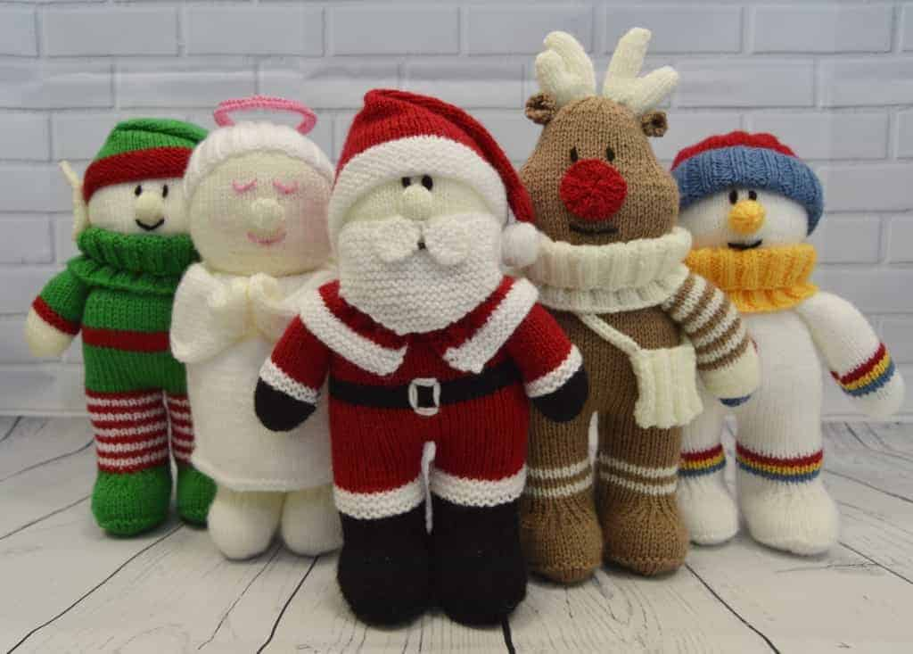 Festive friends doll pattern collection