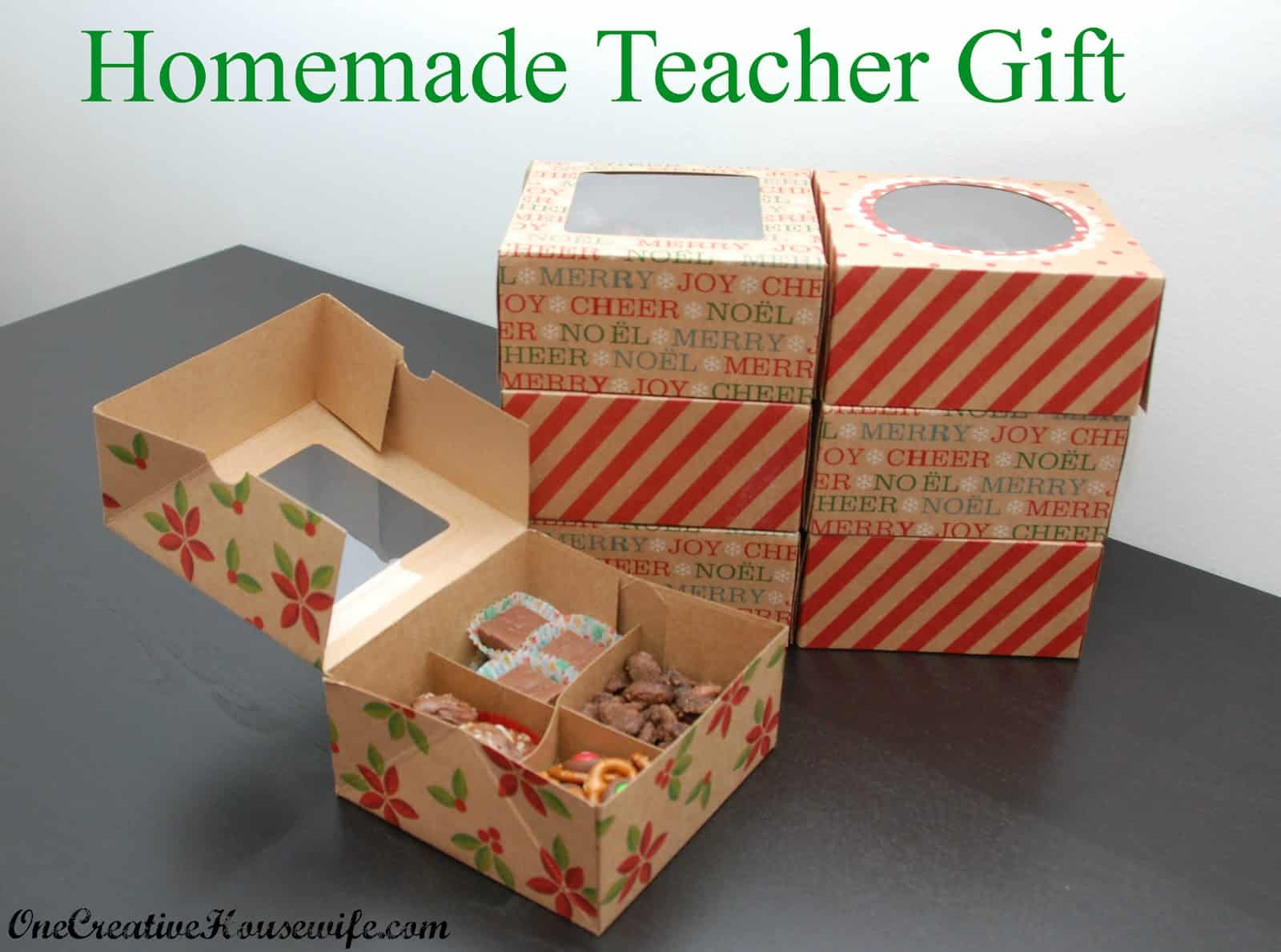 DIY Teacher's Gifts for Christmas