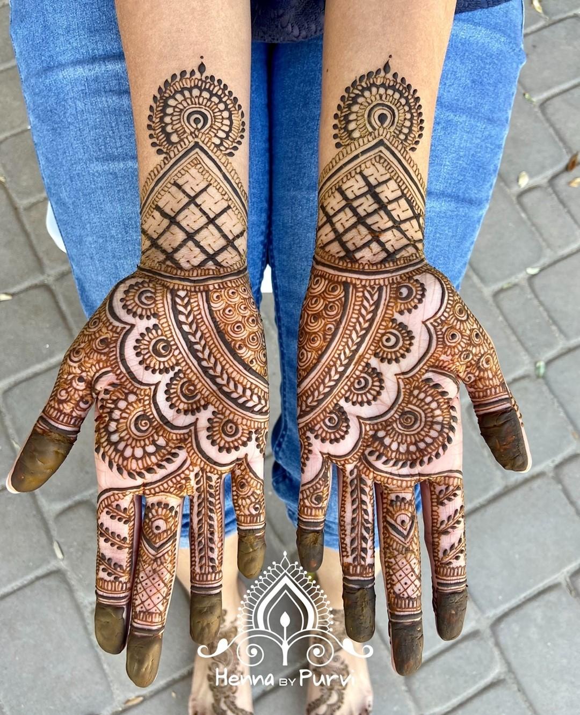 Easy Henna Tattoo - Mirror Design