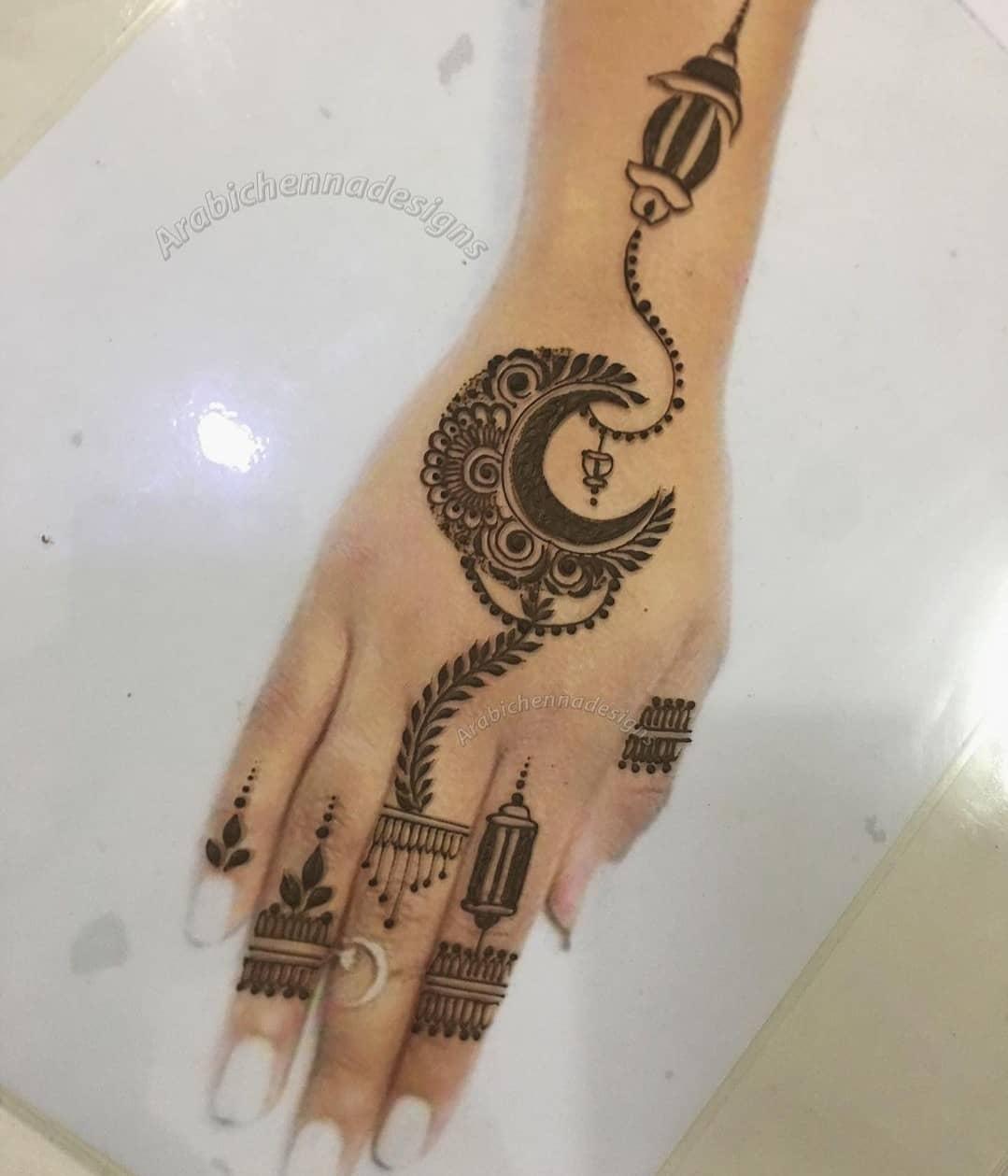 Moon Henna Tattoo