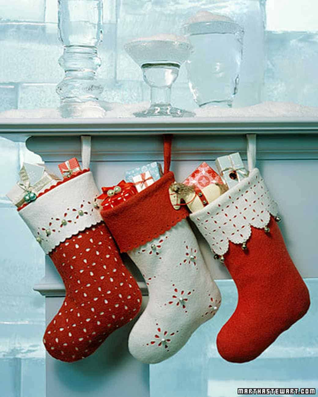 Beautiful Diy Christmas Stockings