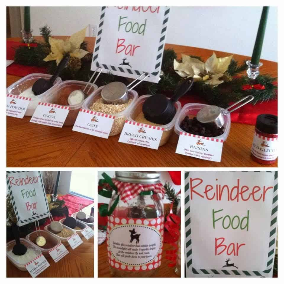 Reindeer food bar