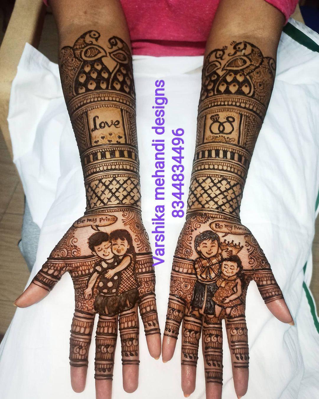 Storyteller Henna Tattoo