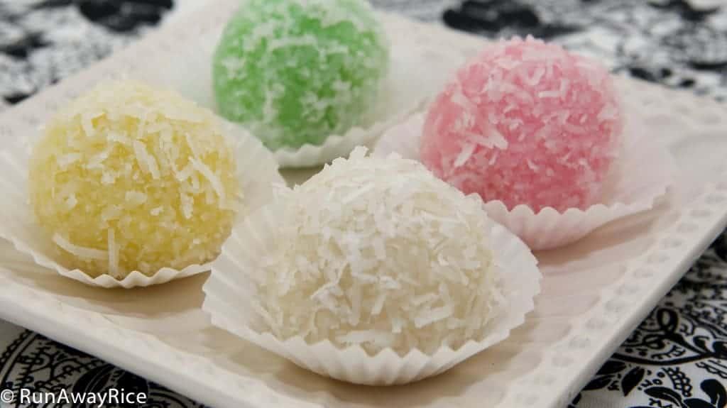 Vietnamese snowball cakes