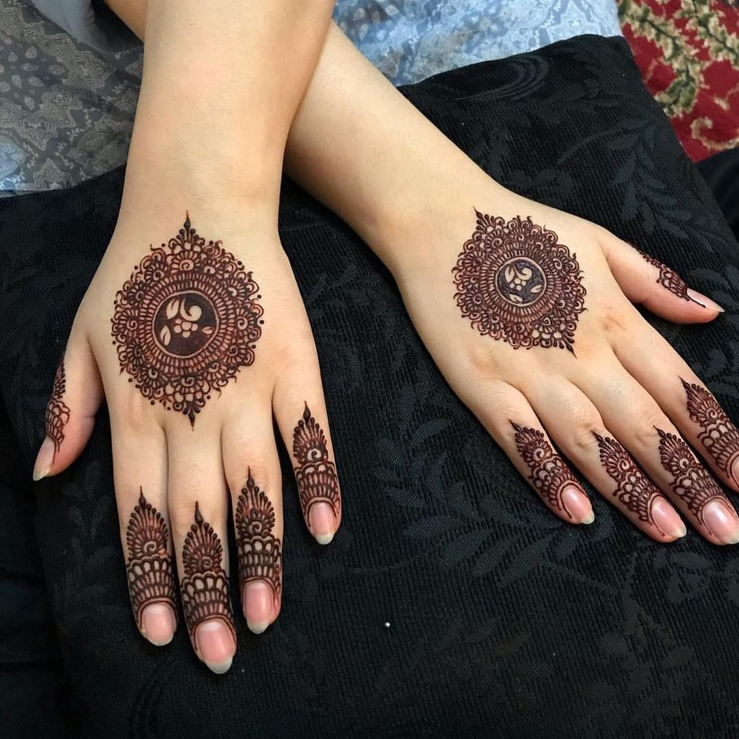 Intricate Henna Hand Tattoo