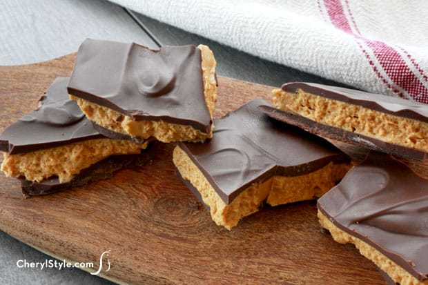 Buckeye bark recipe