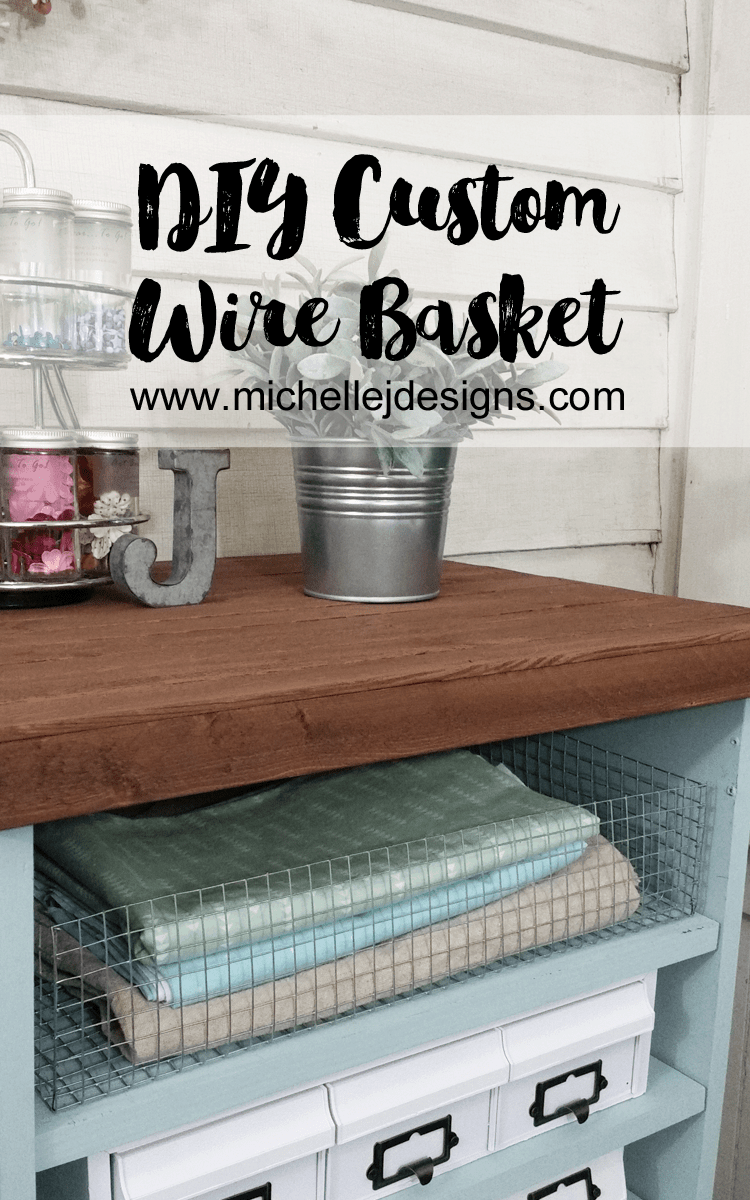 Diy custom wire basket