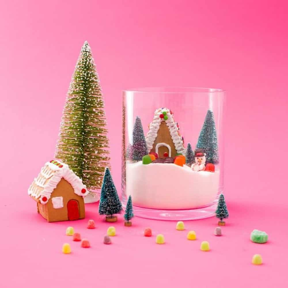 Diy edible snow globe