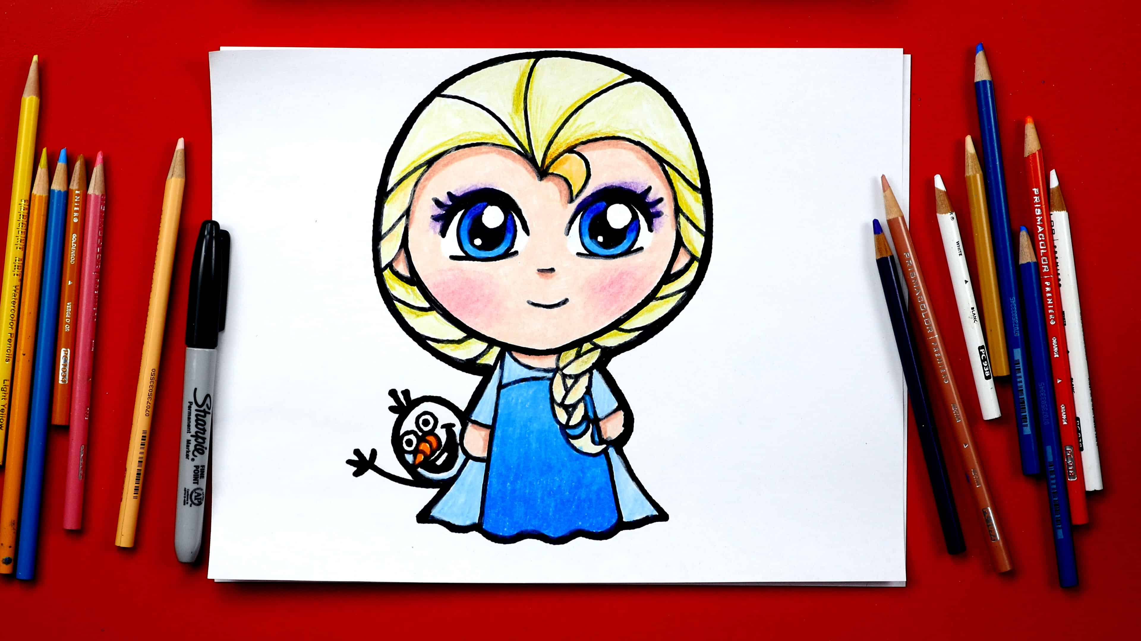 How to draw elsa new feature