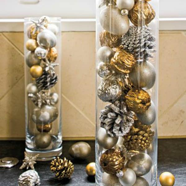Ornament filled vases 2
