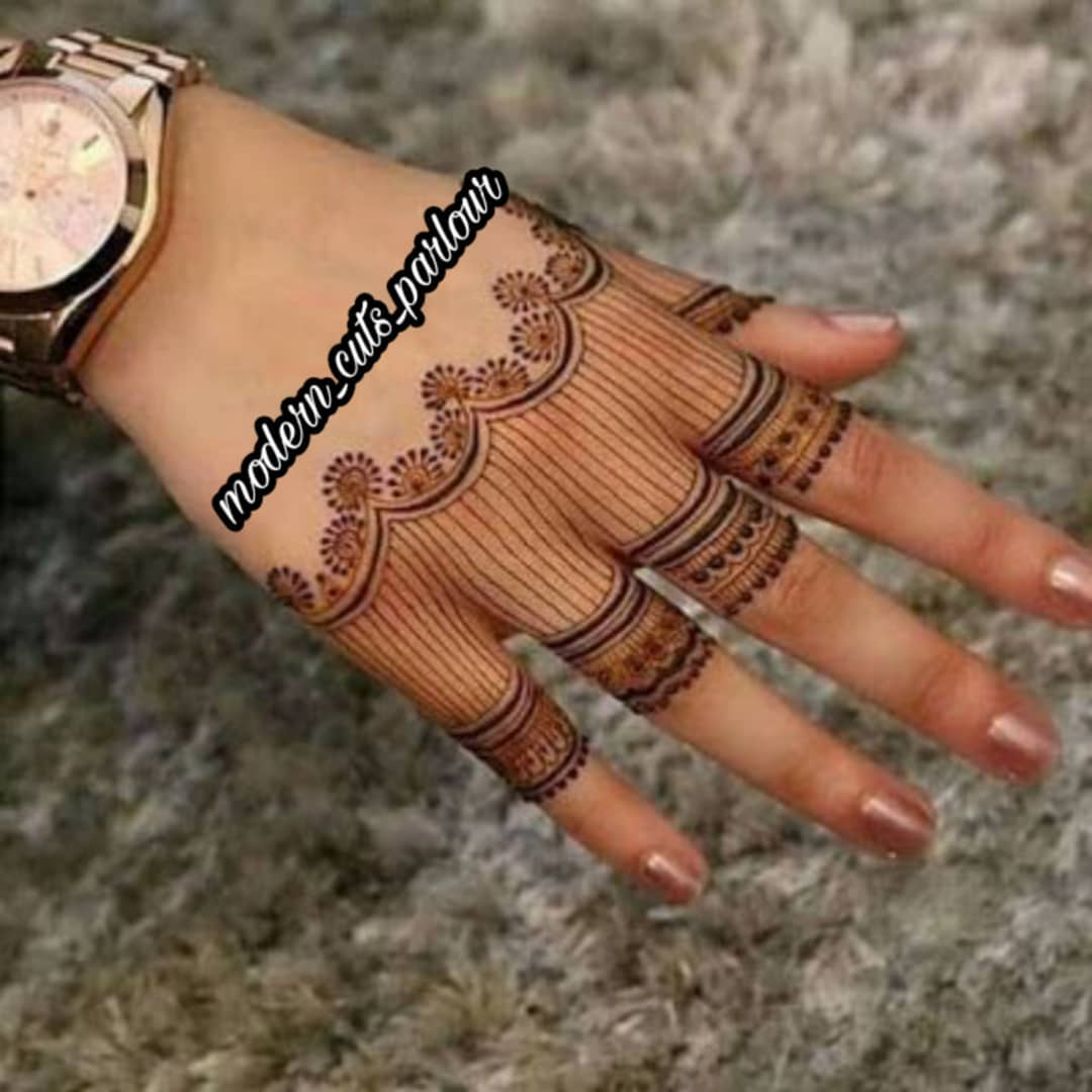 Easy Henna Tattoo Design
