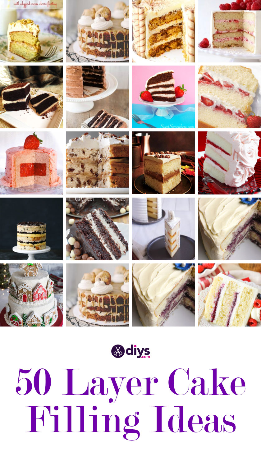 Best layer cake filling ideas