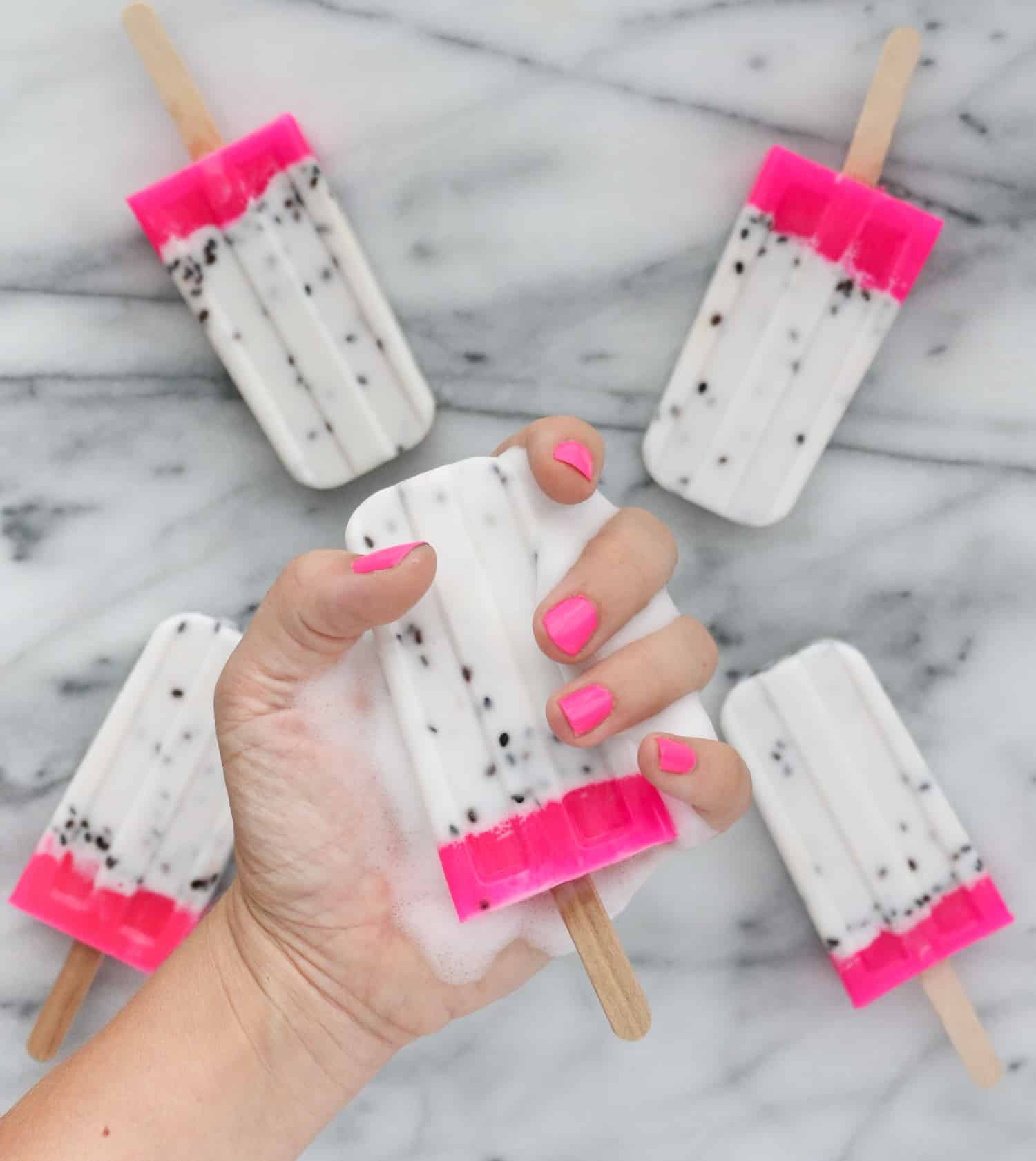 Diy dragon fruit soap