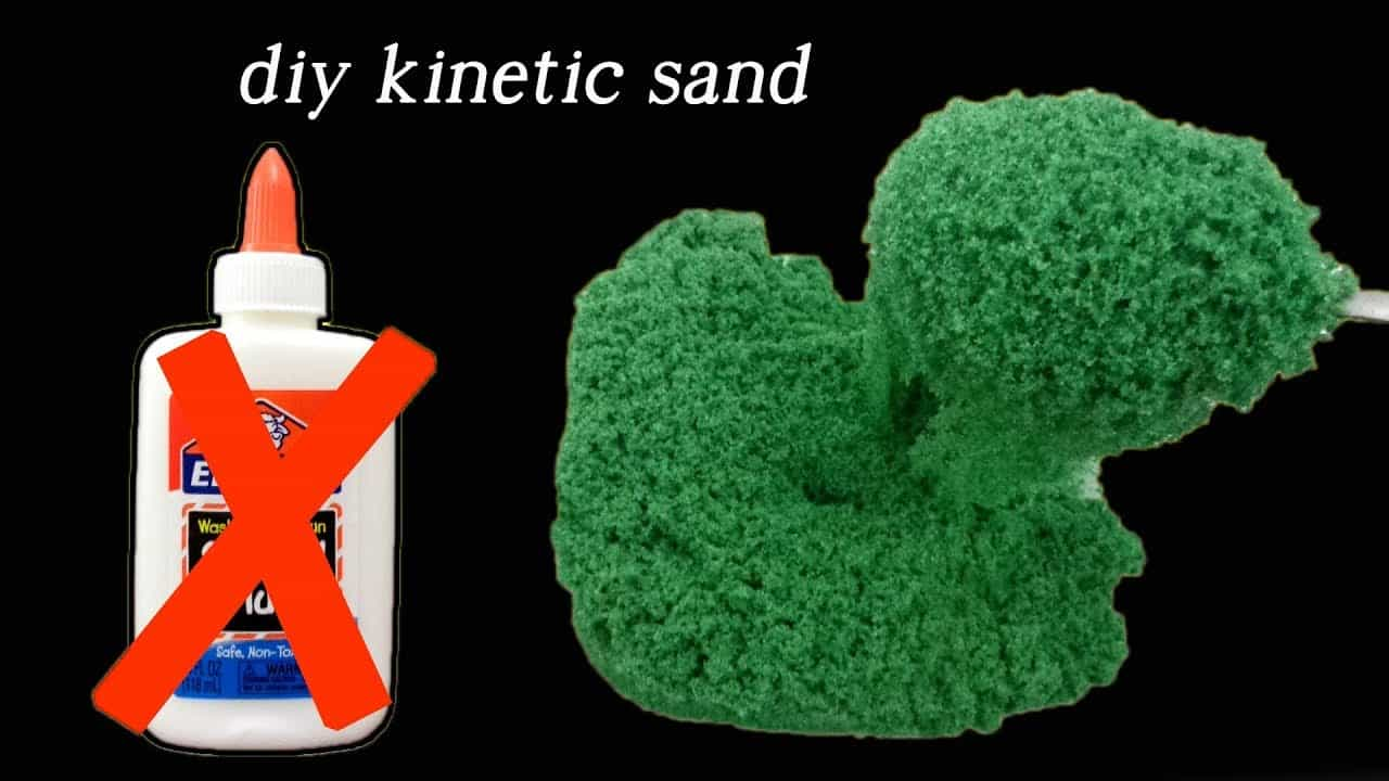 Diy kinetic sand without glue