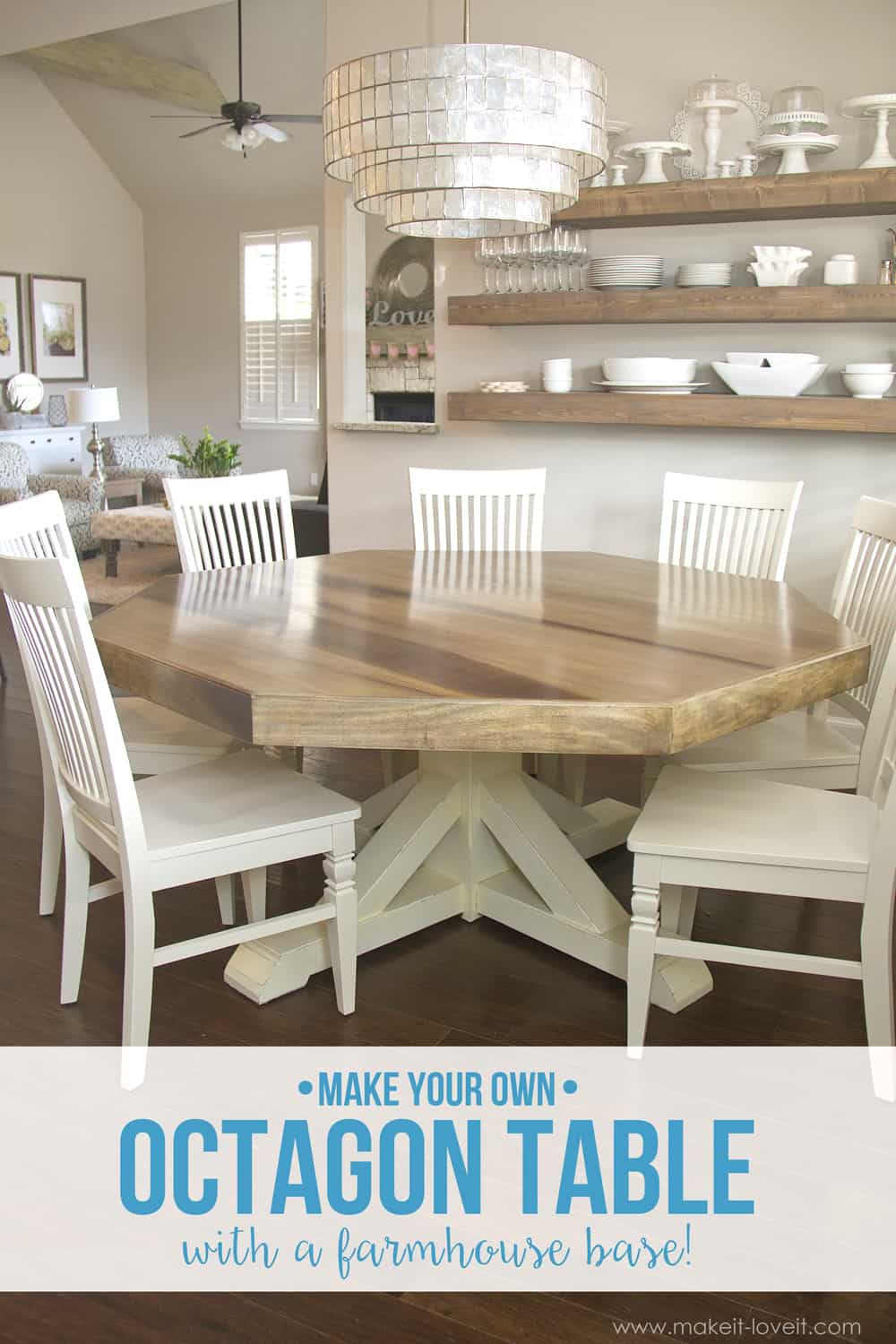 Diy octagon table