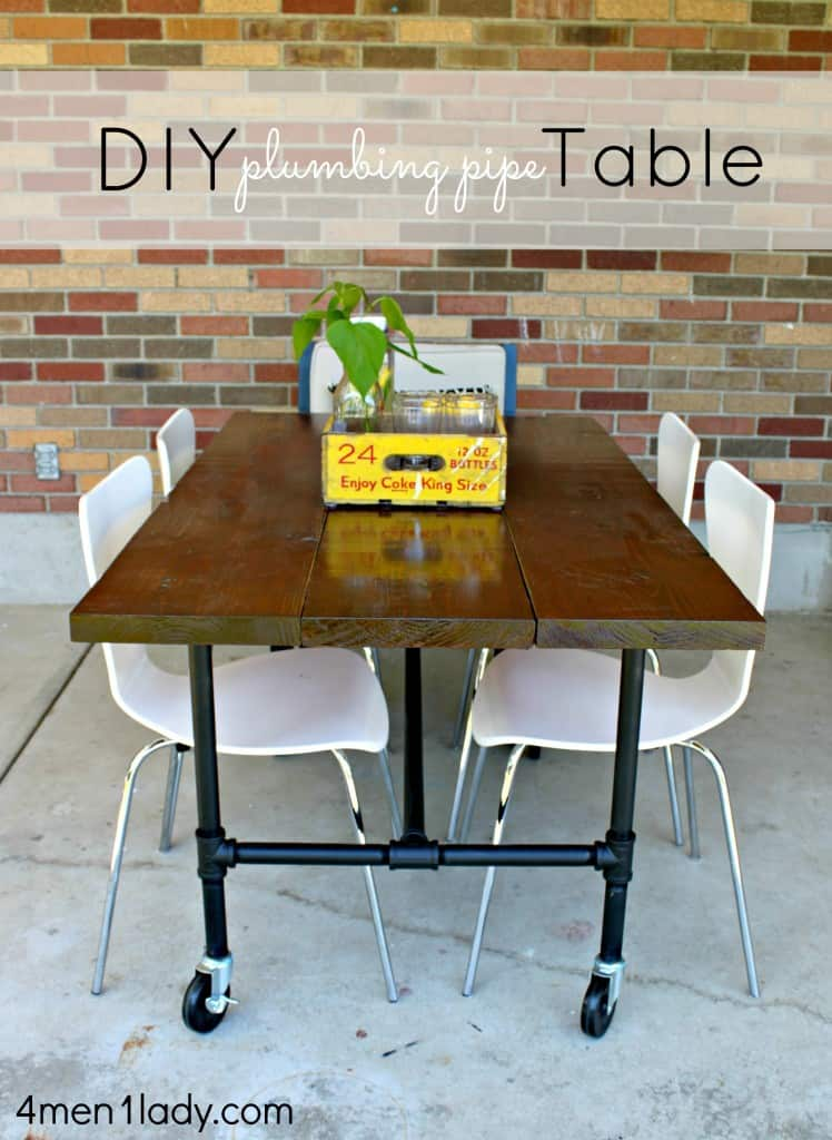 Diy plumbing pipe table
