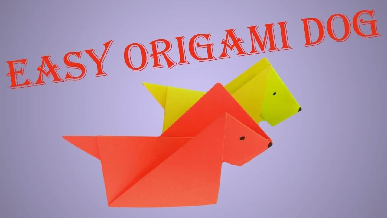 How To Make An Origami Fox Puppet - Folding Instructions - Origami ... | 720x1280