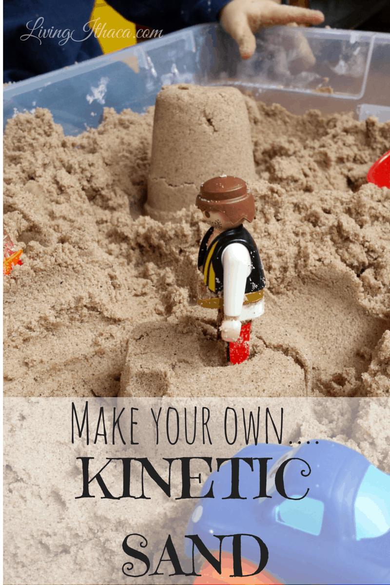 Extra fine kinetic sand