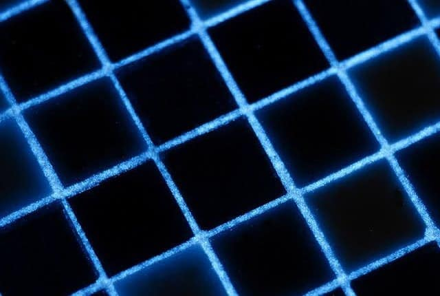 Glow in the dark grout stepping stones
