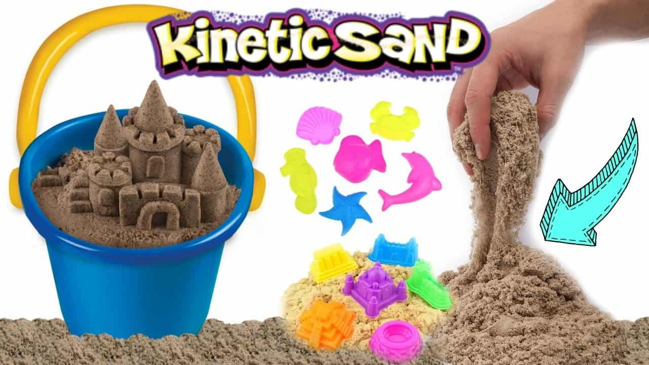 How to make sculptures with kinetic sand
