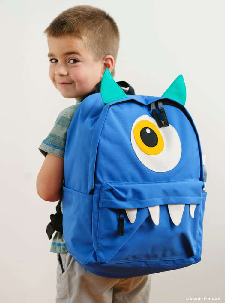 One eyed monster backpack