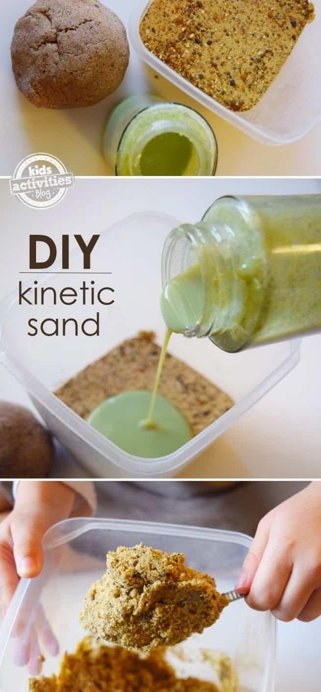 Play sand slime