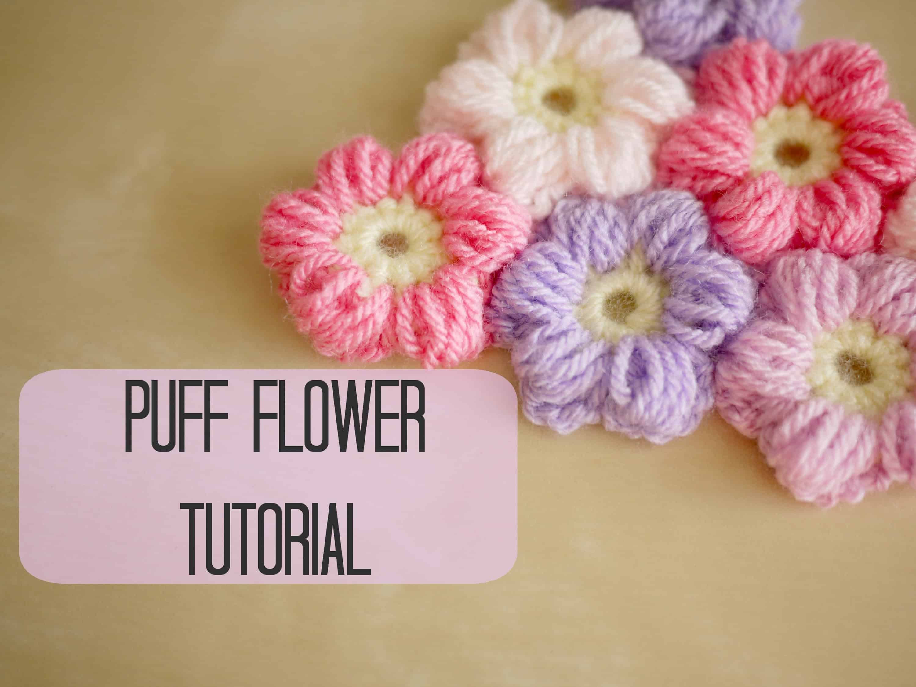 Puff flowers