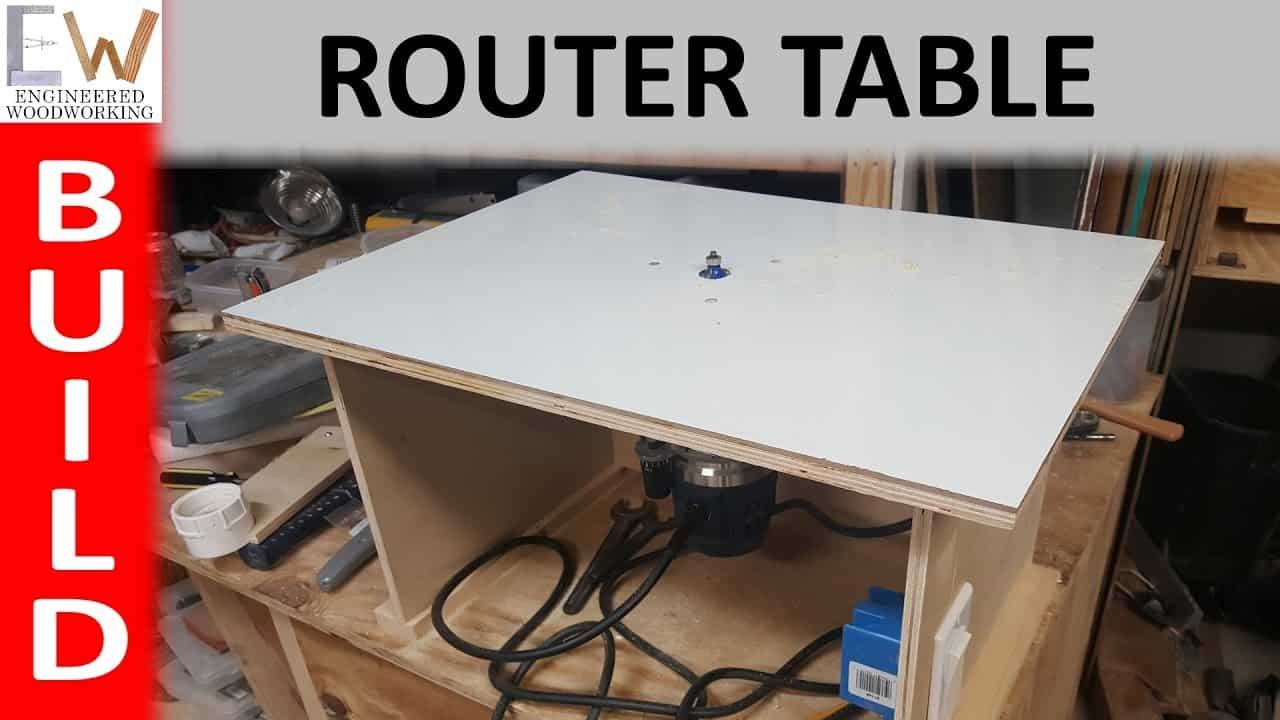 Simpler router table under $20