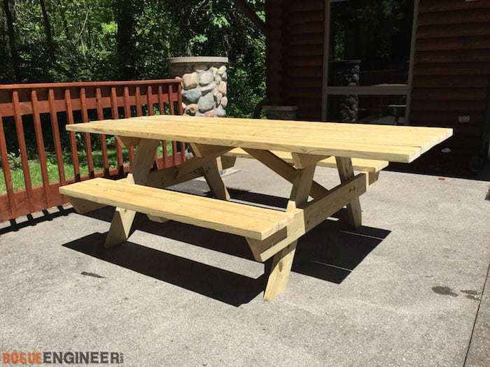 Wheelchair accessbile picnic table