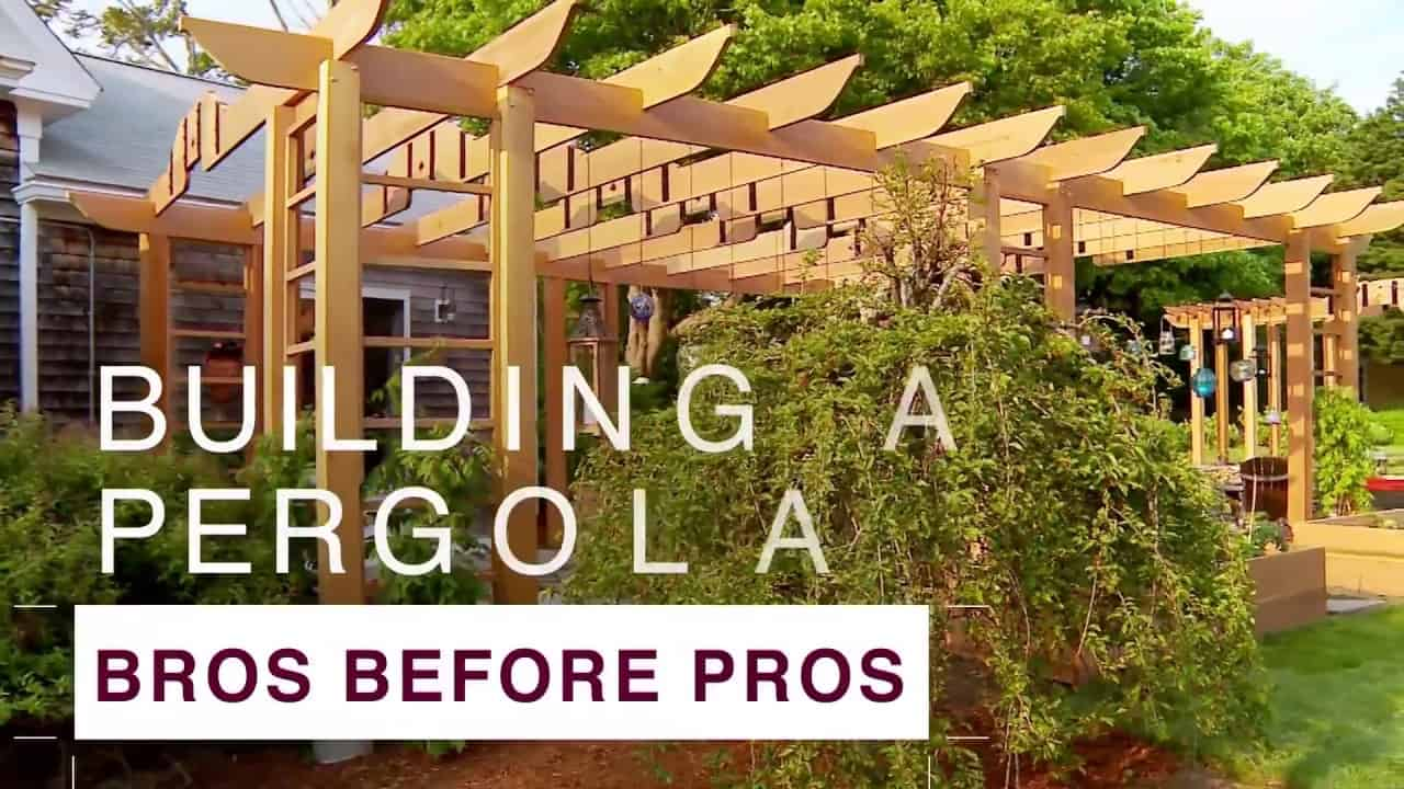 Diy asian inspired pergola