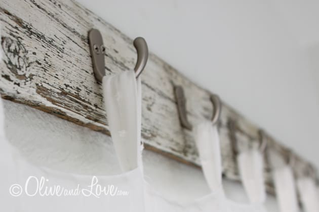 Diy curtain rod hooks