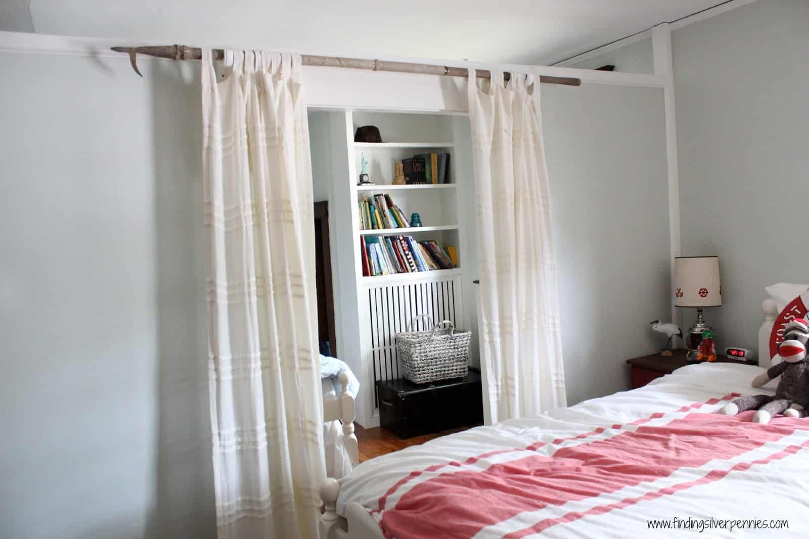 Diy nautical curtain rod