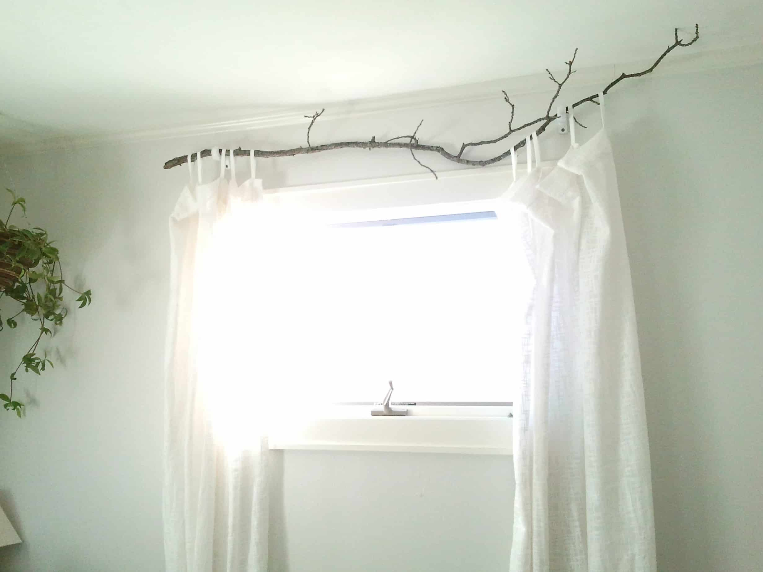15 Diy Curtain Rods To Redress Your Windows