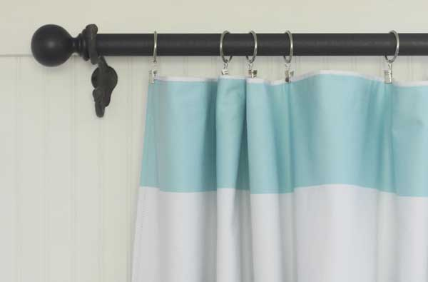 Easy diy curtain rods