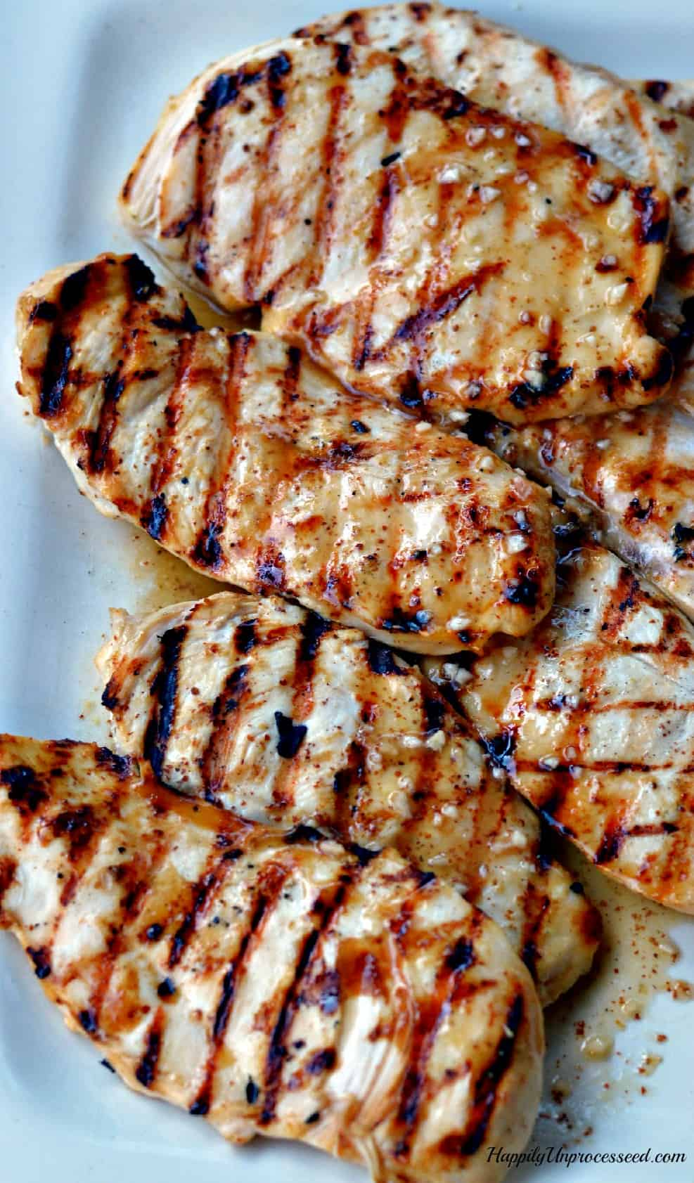 Basic, fool proof grilled chickne marinade