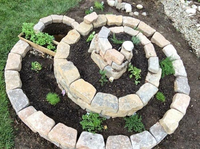 Build a spiral herb garden