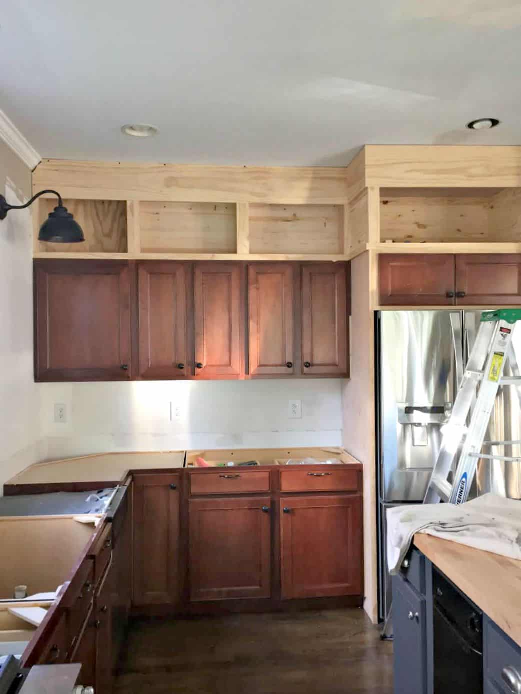 Lovely Diy Kitchen Cabinets