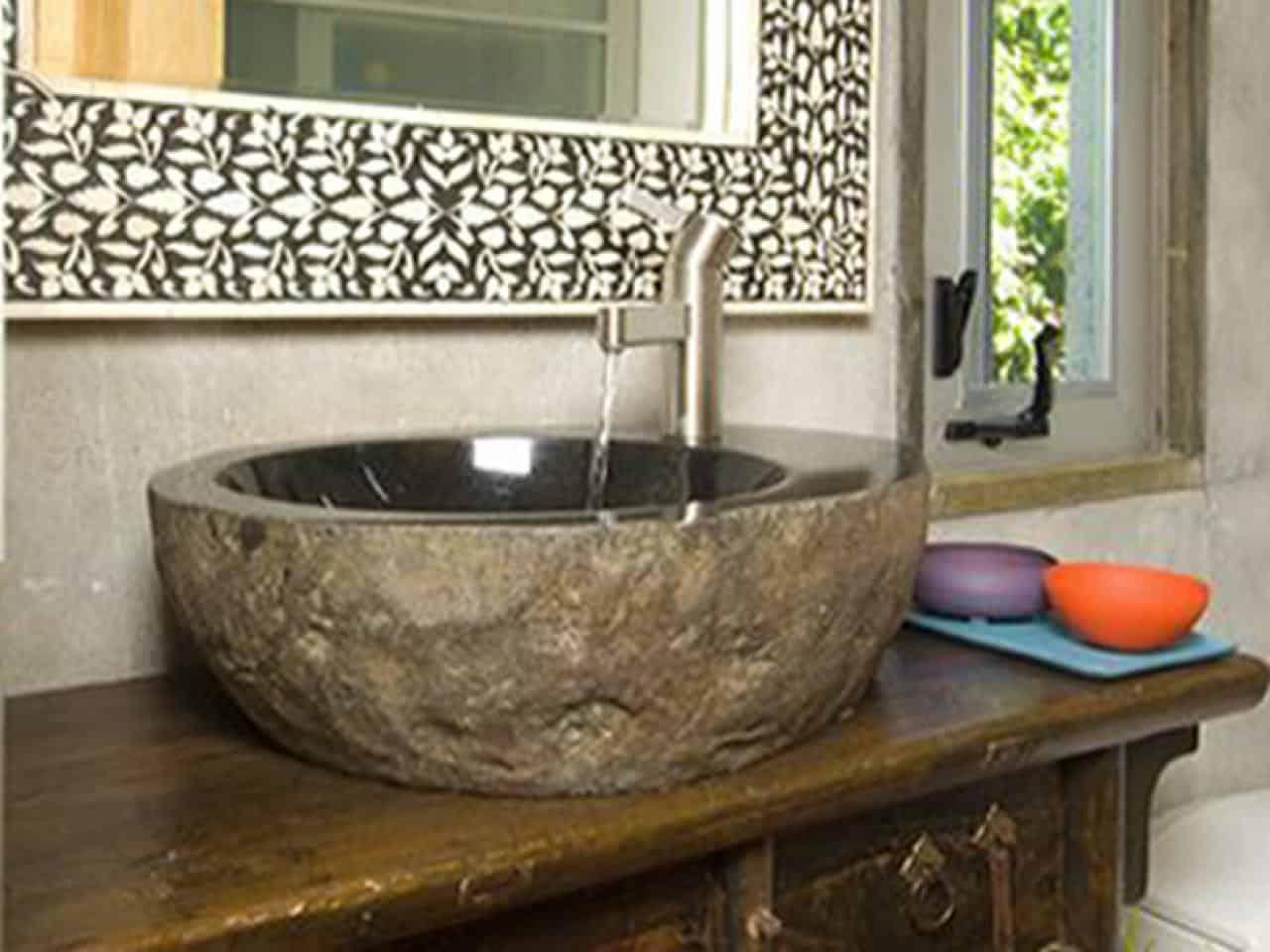 Diy stone sink