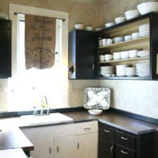Door less cabinets