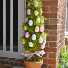 درخت توپیاری تخم مرغ عید پاک