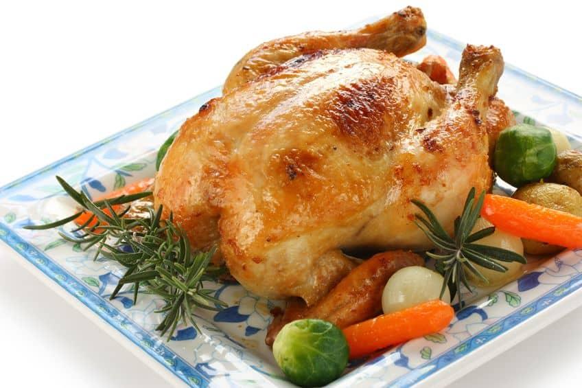 Easy garlic rosemary chicken
