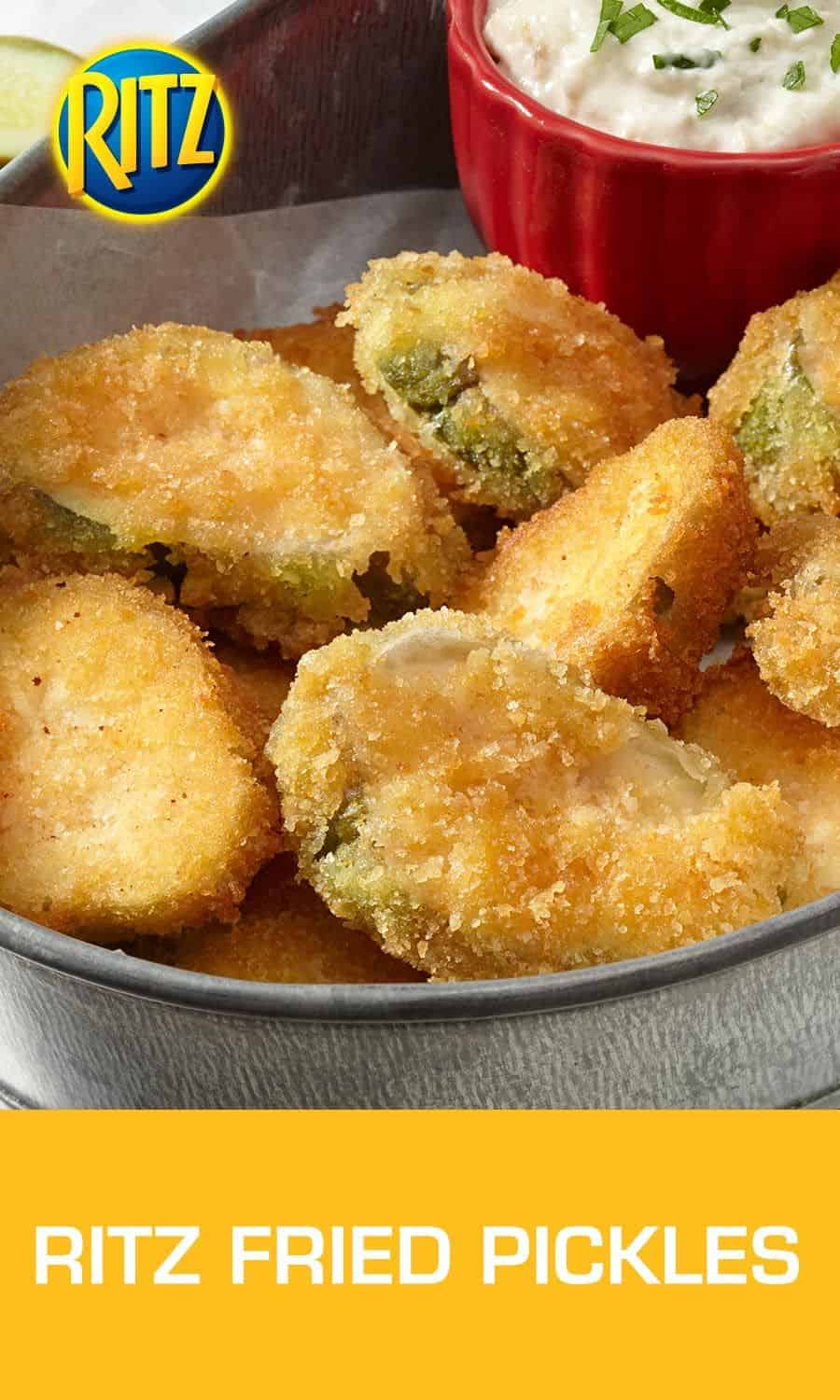 Ritz fried pickles