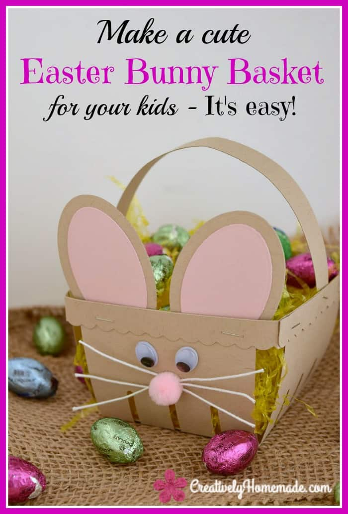 Stock card easter basket