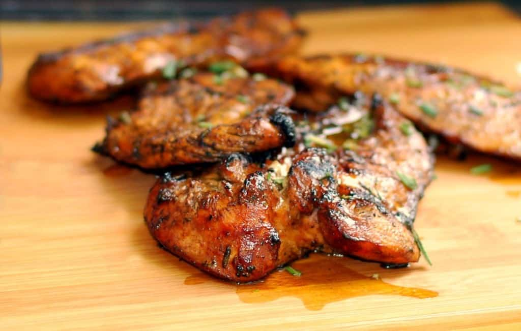 Sweet and tangy grilled chicken marinade